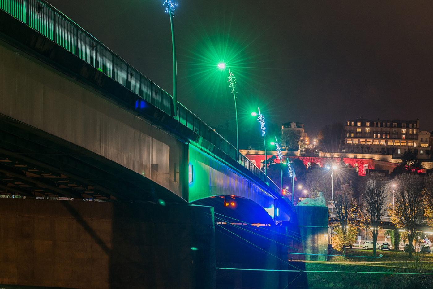 Illumination Le Pecq pont 2019