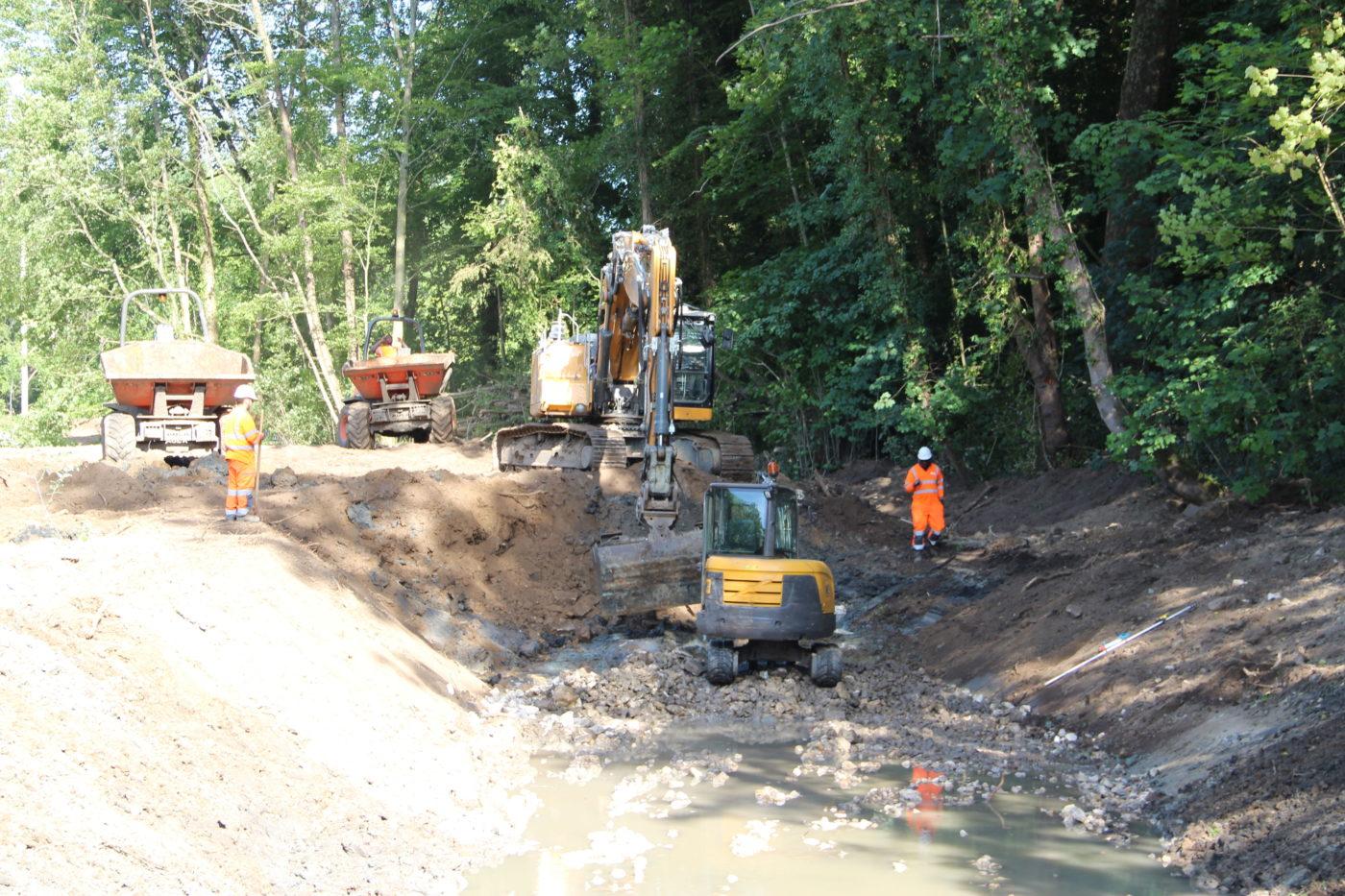 travaux rivières fac d'orsay