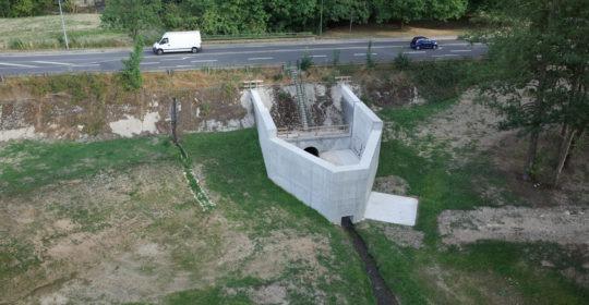 ouvrages hydrauliques rivières
